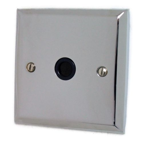 G&H SC79B Spectrum Plate Polished Chrome 1 Gang Flex Outlet Plate